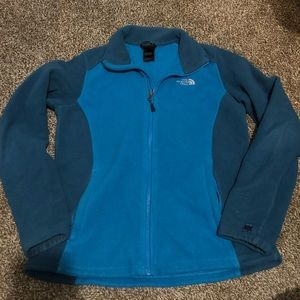 Blue The North Face Jacket Size M